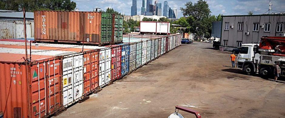 Склад-контейнер в СЗАО