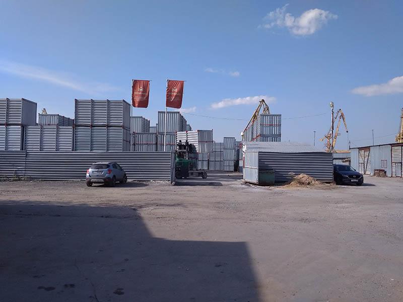 Территория Мобиус склада на Ленинградке