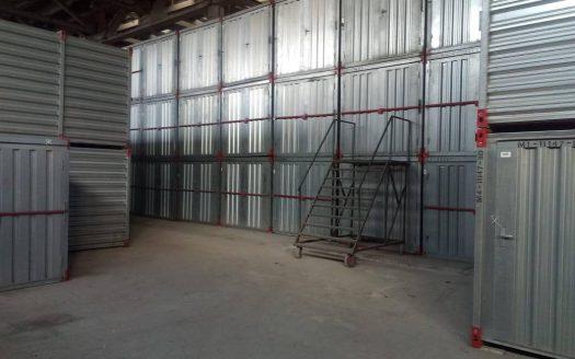 Контейнеры Мобиус на отапливаемом складе