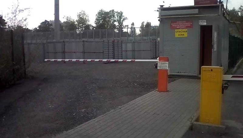Контейнерный склад Мобиус на Речном Вокзале